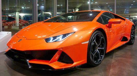 Traum vieler Autofans: ein Lamborghini Huracan (Archivbild)