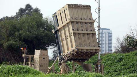 Eine Starterbatterie in der Nähe von Tel Aviv.