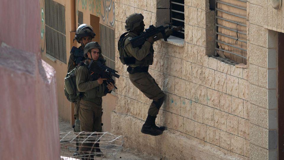 Einsatz im Westjordanland