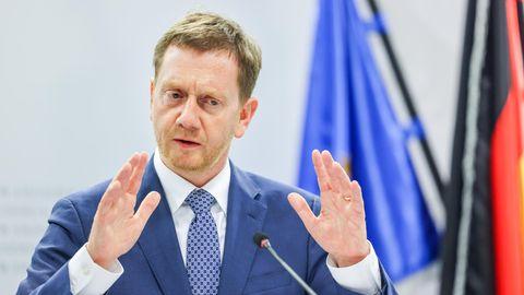 Michael Kretschmer (CDU), Ministerpräsident von Sachsen