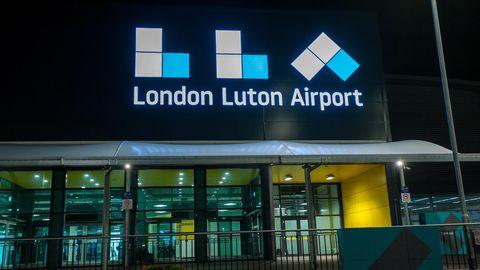 London Luton Airport Außenansicht