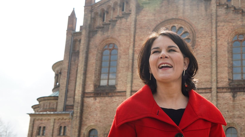 Kanzlerkandidatin Annalena Baerbock