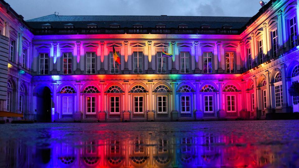 Palast in Belgien