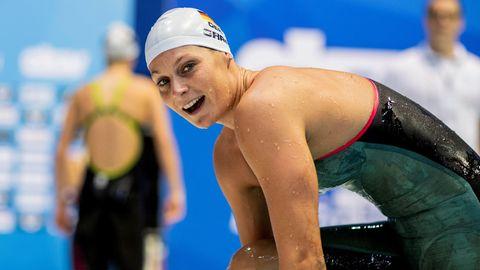 Schwimmerin Lisa Graf