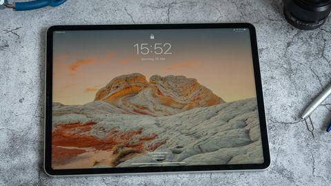 Das iPad Pro (5. Generation) mit 12,9-Zoll-Bildschirm