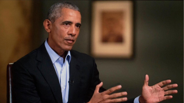 """Barack Obama, hier im November 2020 bei einem Interview für die CBS-Show """"60 Minutes"""""""