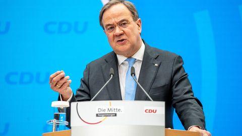 Armin Laschet, Kanzlerkandidat der CDU