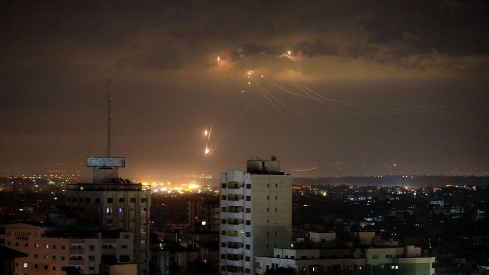 """Der """"Iron Dome"""" wehrt Raketen ab"""