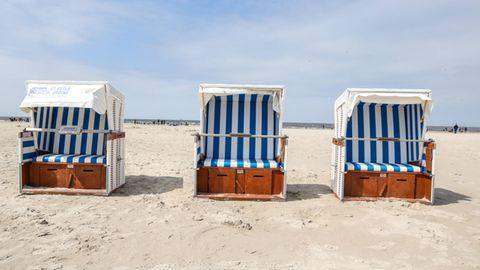 Strandkörbe inSt. Peter Ording