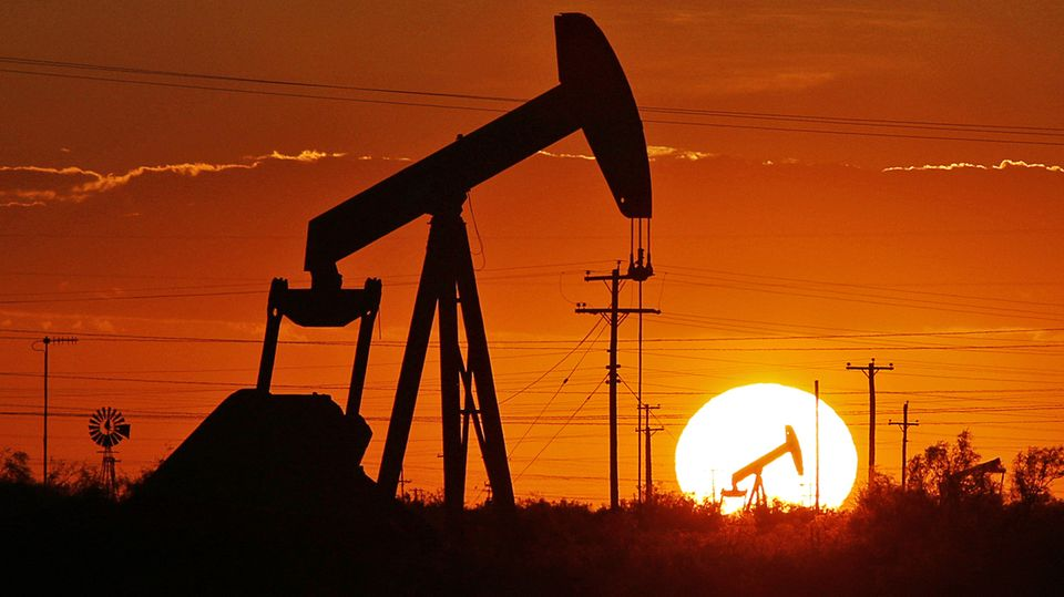 Erdölförderung in Permbecken, Texas