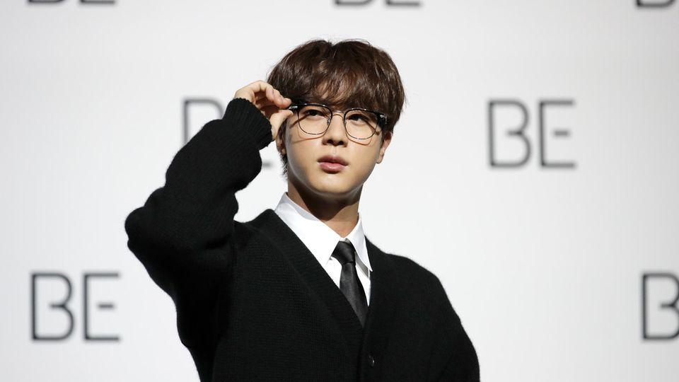 BTS-Sänger Jin, der Bandälteste