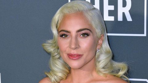 Lady Gaga bei einem Auftritt in Santa Monica.