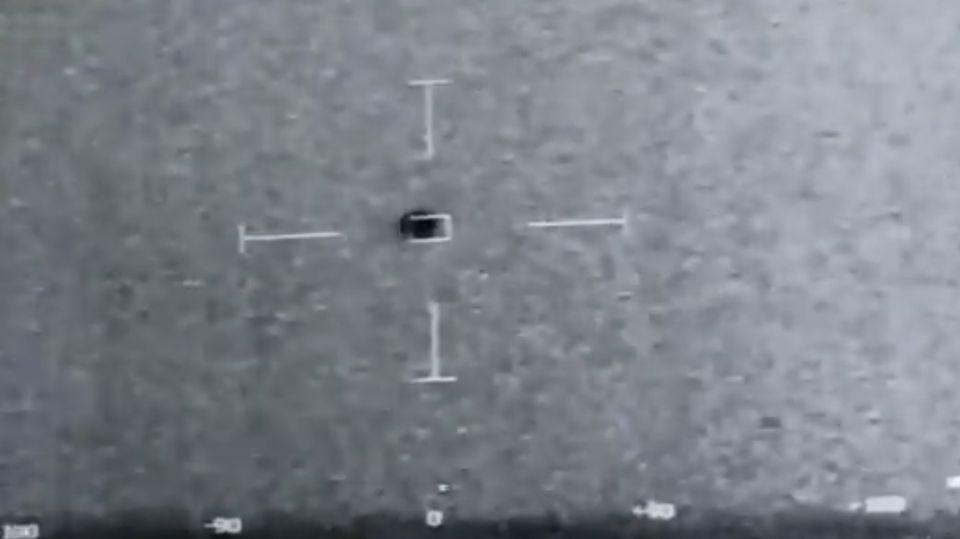 Die Aufnahme soll ein Ufo vor Kalifornien zeigen