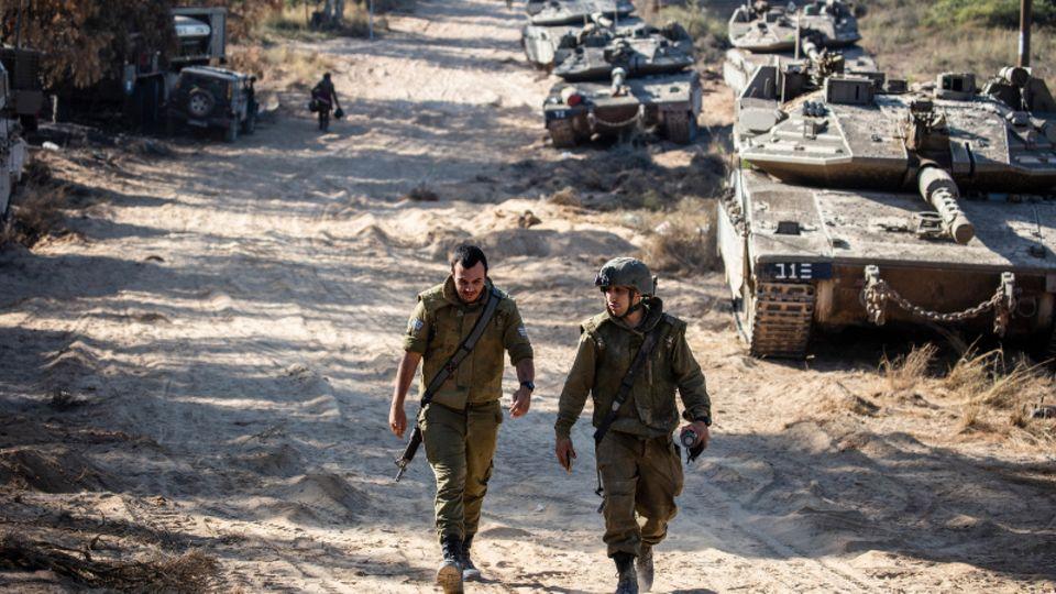 Soldaten der Israelischen Verteidigungsstreitkräfte (IDF)