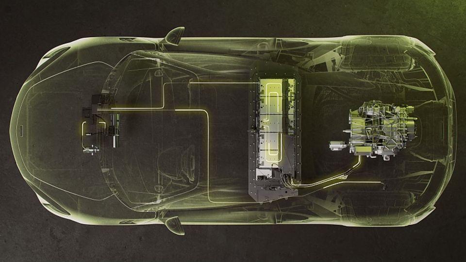 Der McLaren Artura steht auf der neuen MCLA-Plattform basiert (McLaren Carbon Lightweight Architecture)
