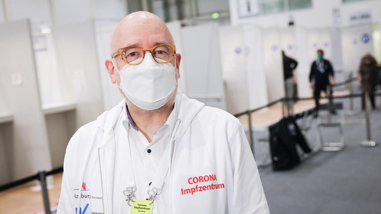 Dirk Heinrich, ärtzlicher Leiter des Hamburger Impfzentrums