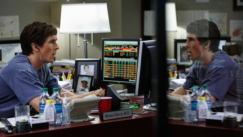 "Christian Bale als Michael Burry im Film ""The Big Short"""