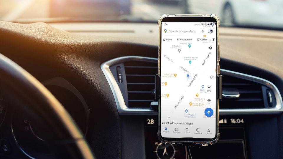 Das neue Google Maps zeigt nun je nach Uhrzeit und Ort andere Umgebungs-Highlights