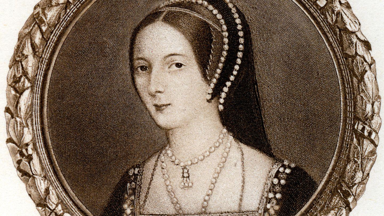 Anne Boleyn auf einer Miniatur