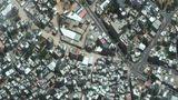 Satellitenaufnahme aus dem Gaza-Streifen