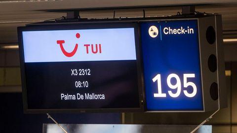 Ferienflieger nach Mallorca