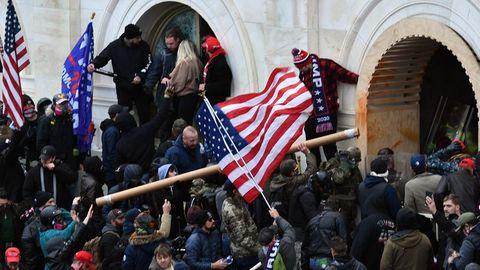 Der Sturm auf das US-Kapitol am 6. Januar