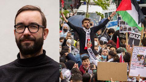 """Dr. Dr. Peter Ullrich (l.):""""Wenn ein aufgepeitschter Mob vor eine Synagoge zieht, muss ganz klar eingegriffen werden"""""""