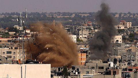 Nahostkonflikt: Israels Luftwaffe bombardiert weiter Hamas-Tunnelsystem in Gaza