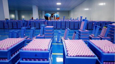 In China ist man auf die großangelegte Lithium-Produktion eingestellt
