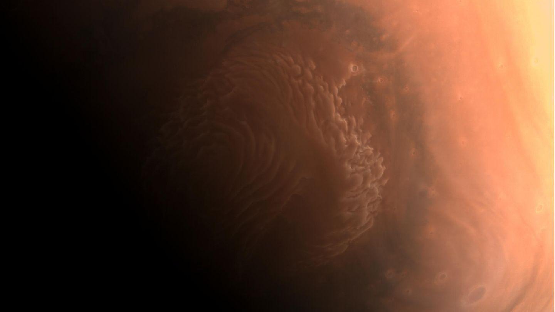 Neues Bild vom Mars - von Tianwen 1 aus Orbit