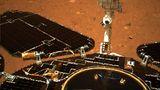 Mars - Zhurong Solarpanel und Instrumente