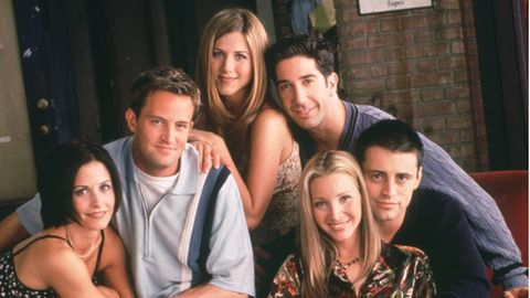 """Die """"Friends""""-Darsteller im Jahr 1995"""