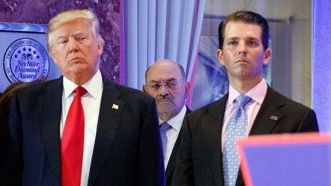 Donald Trump und Allen Weisselberg