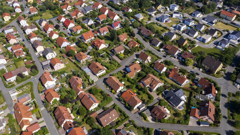 Die Preise für Einfamilienhäuser steigen stark