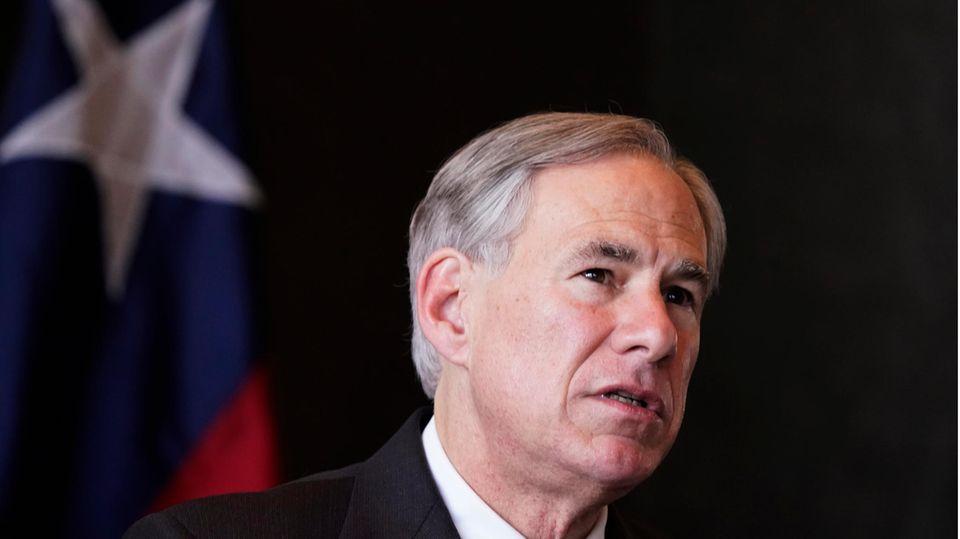 Texas' Gouverneur Greg Abbott