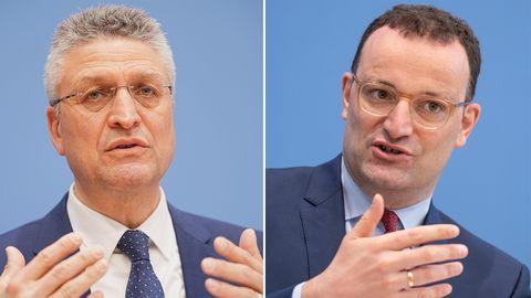 Bundesgesundheitsminister Spahn und RKI-Chef Wieler zur aktuellen Corona-Lage