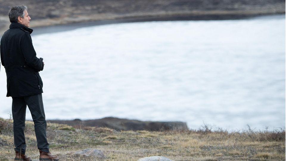 Blinken auf Grönland