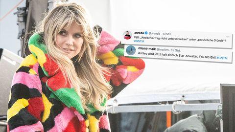 """Die besten Twitter-Reaktionen zum Halbfinale von """"Germany's Next Topmodel"""""""