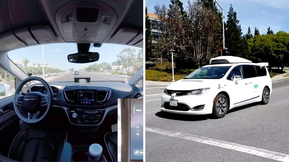 Roboter-Taxi bleibt stecken – und flüchtet vor Pannendienst