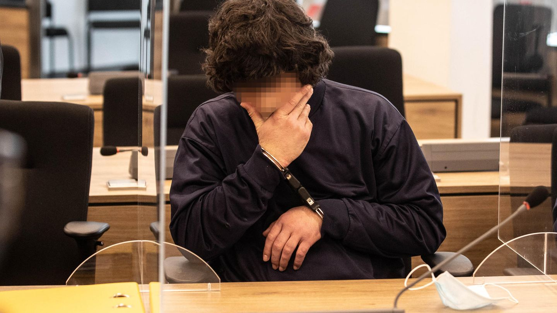 Abdullah A. während der Urteilsverkündung