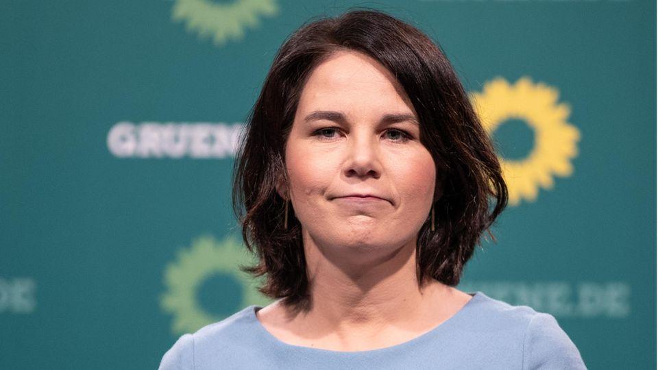 Grünen-Chefin und designierte KanzlerkandidatinAnnalena Baerbock