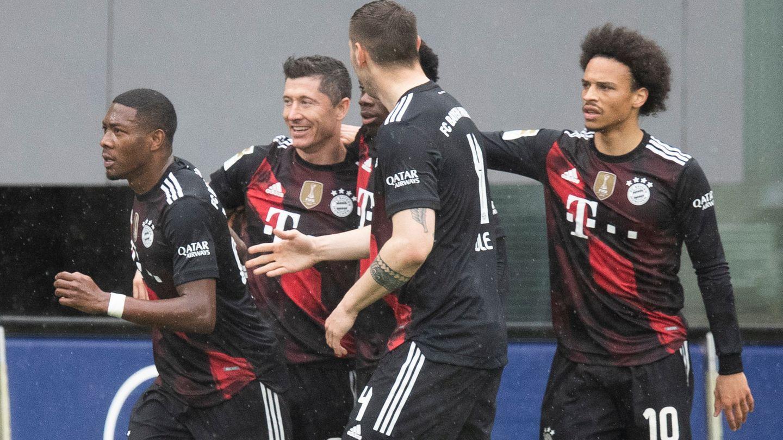 Neun Mal in Folge sind die Bayern nun Deutscher Meister