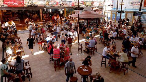 Gäste im Bierkönig auf Mallorca