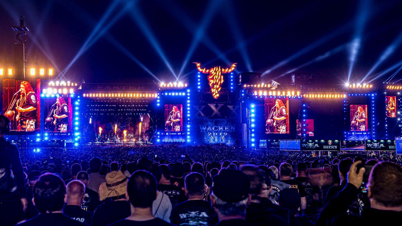 Die Bühnen des Wacken Open Air im Jahr 2019
