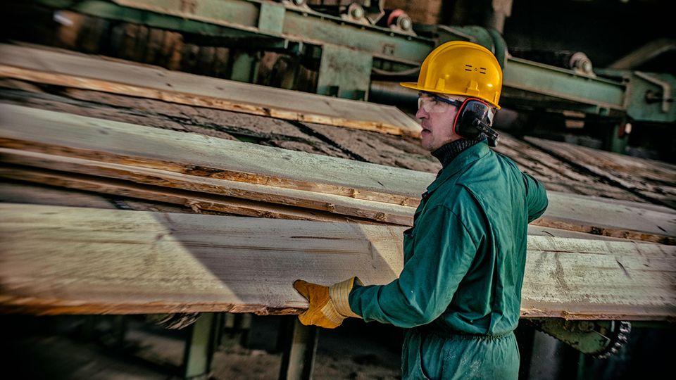 Handwerk beklagt Kurzarbeit: Warum gibt es kein Holz mehr?