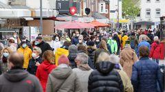 ... wurde es in Fußgängerzone von Westerland zeitweise durchaus voller.