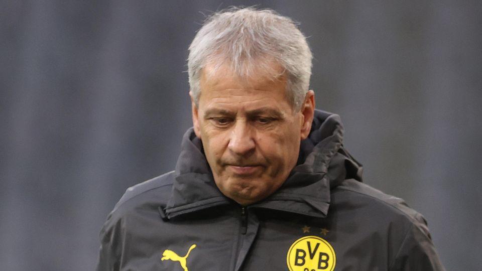 Musste vorzeitig in Dortmund gehen: Trainer Lucien Favre