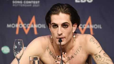 Maneskin-Sänger Damiano David hatte die Drogenvorwürfe gegen ihn noch in der Finalnacht dementiert