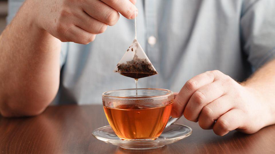 Bereits aufgebrühte Teebeutel können wiederverwendet werden