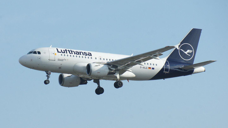 Airbus A319 der Lufthansa